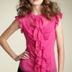 Модные женские блузки 2013