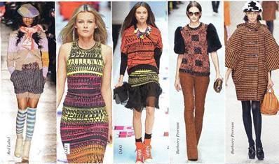 Модный трикотаж 2013 года