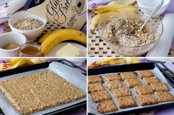 Самое полезное банановое печенье за 15 минут! Польза и вкус в одном десерте
