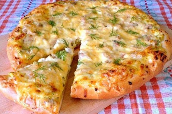 Вкусная деревенская пицца в домашних условиях